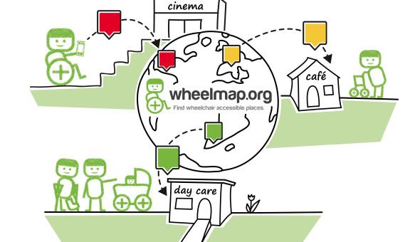Wheelmap worldwide